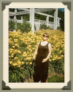 My Mother among the daffodils...
